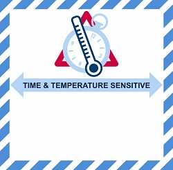 The new IATA label for temperature-controlled drugs